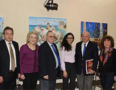 Персональная выставка Заслуженного художника РФ П.Т.Стронского на Мальте