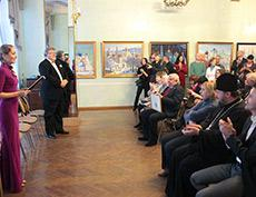 Открытие персональной выставки Валерия Ржевского в Центральном Доме ученых РАН