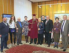 Открытие персональной выставки Валерия Ржевского в Звездном городке