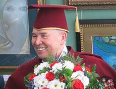 Присуждение звания Академика Международной академии культуры и искусства В.М.Зайцеву