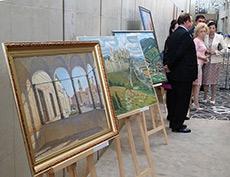 """Открытие выставки """"Словакия глазами русских художников"""" в Братиславе"""