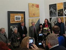 Торжественное открытие персональной выставки Татьяны Назаренко в Российской академии художеств