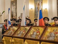 Народный художник РФ Петр Стронский стал автором главных икон морской пехоты Военно-Морского Флота России