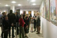 Открытие персональной выставки Петра Стронского в Люксембурге
