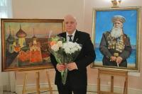 Открытие персональной выставки Петра Стронского в Московской городской Думе