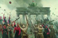 Дмитрий Шмарин. ПОБЕДА. БЕРЛИН 1945. 2014 год, холст, масло, 180х230 см