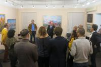 Открытие персональной выставки Андрея Лысенко