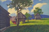Выставка «Словакия в творчестве русских художников» в Гуменне