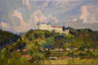 С.Сиренко. Словацкий пейзаж. х.м. 2015 г. 40 х 60 см
