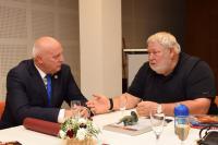 С Владимиром Сотаком